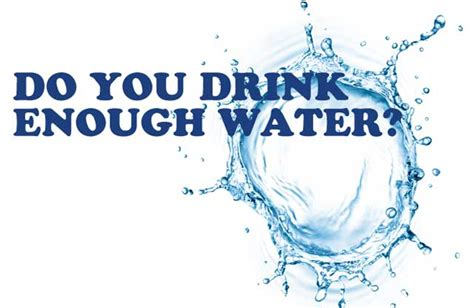 not but water 8 negative effects of not enough water every days
