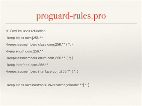 android proguard proguard by android studio