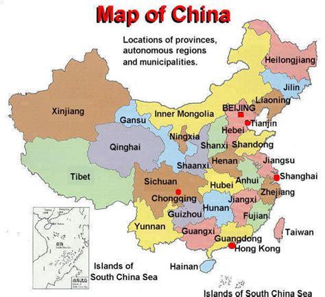 map china china information china general information information about china china information