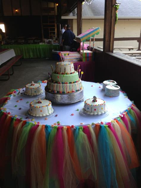 Pin Quinceanera Table Decorations Cake Quinceanera Cake Land Theme Candyland