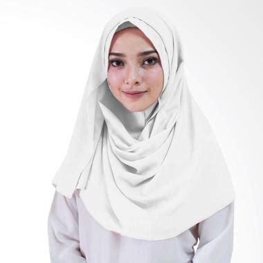 Jilbab Instan Putih Jual Milyarda Zenia Jilbab Instan Putih