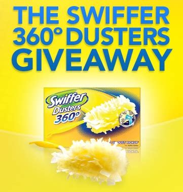 Swiffer Giveaway - win a swiffer 360 in their facebook giveaway each week in may
