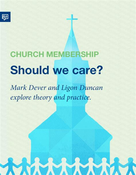 church discipline medicine for the 9marks journal books church membership in theory and practice with ligon duncan