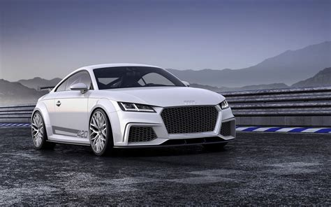 Audi Tt 2014 by 2014 Audi Tt Quattro Sport Concept Wallpaper Hd Car