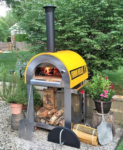 Backyard Oven by Backyard Brick Oven Forno Bello Wood Fired Brick Oven
