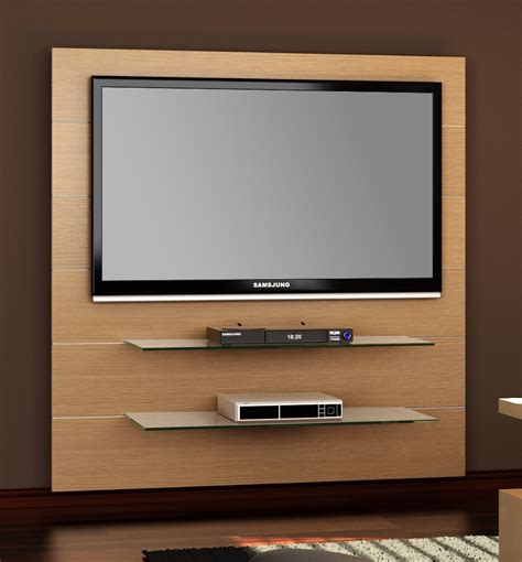 Wall Tv | panorama 2 oak wall tv stand hubertus ebay
