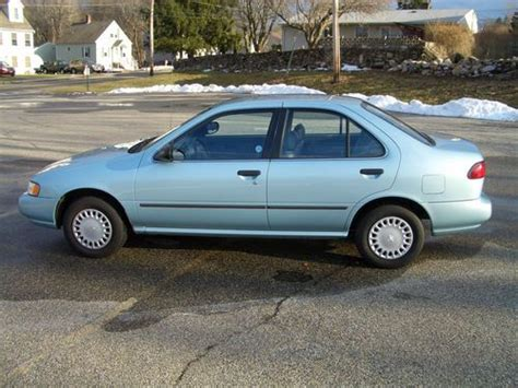 how petrol cars work 1996 nissan sentra transmission control buy used 1996 nissan sentra gxe in seymour connecticut united states for us 3 500 00