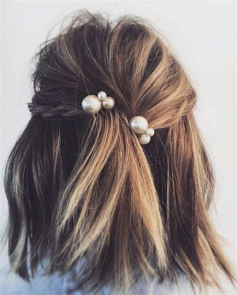 hair accessories for short hair on 36 year old woman wedding hairstyles for every hair type a practical wedding