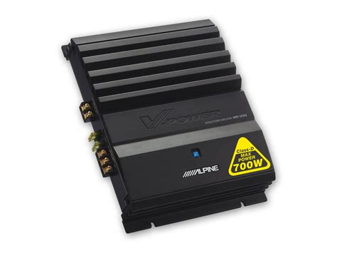 digital mono power lifier alpine mrp m352