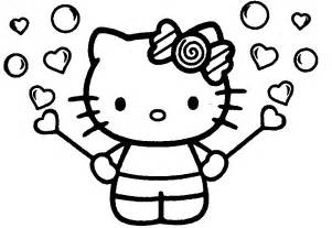 kitty print free coloring pages art coloring pages
