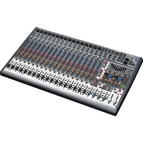 Mixer Audio Behringer 24 Channel behringer sx2442fx 24 channel mixer with 16 mic pres
