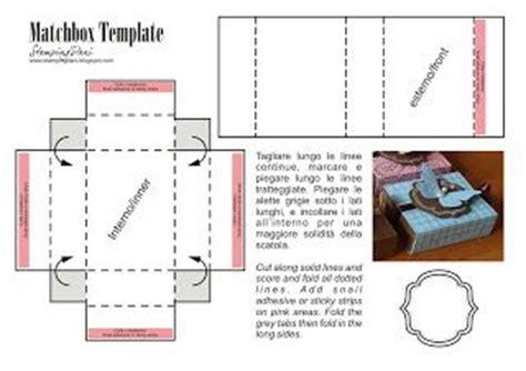 Matchbox Card Template by Best 25 Matchbox Template Ideas On Box