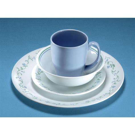 corelle country cottage 16 piece vitrelle dinnerware set