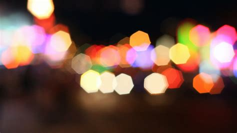 Blurred Lights by Getting Blurred Lights In Nightime Dslr