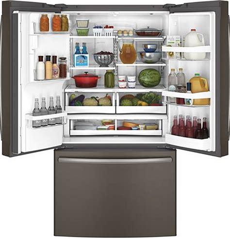 ge slate kitchen package gye22hmkes jgb660eejes ge slate french door refrigerator gye22kmhes