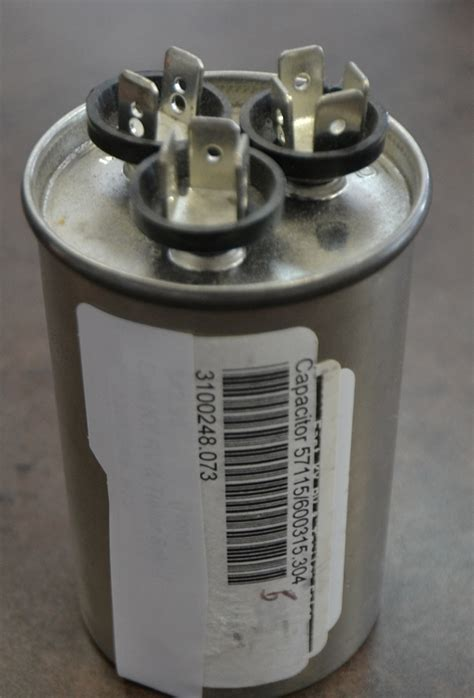 rv air conditioner capacitor replacement dometic start capacitor silver 3 prong style