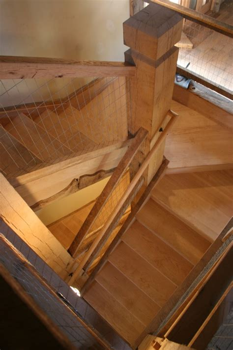 Box Stairs Design Conversion Of 18th Century Bank Barn To Residential Use