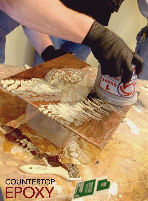 endless ways  create effects  countertop epoxy
