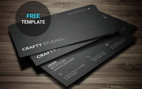 Minimalistic Business Card Template Free by 50 Free World Best Creative Business Card Design Templates