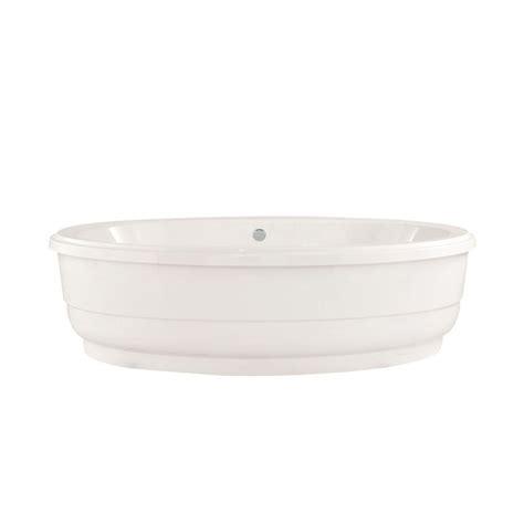 6 foot bathtubs virtu usa serenity 5 6 ft center drain soaking tub in