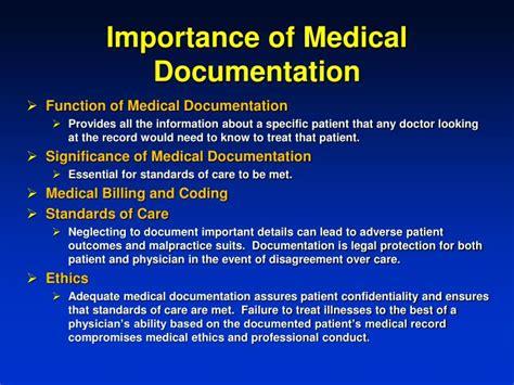 Importance Of Documentation In Nursing