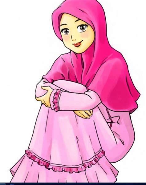 wallpaper animasi hijab animasi muslimah sedih auto design tech