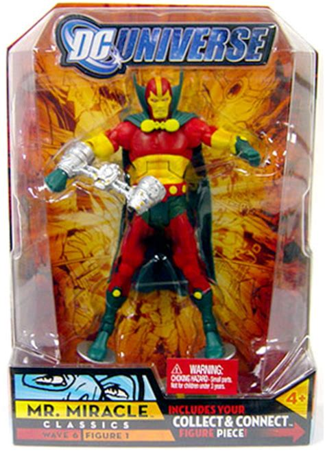 Dc Universe Wave 6 Mr Miracle dc universe classics mr miracle series 6 figure
