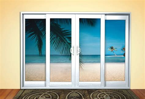 Vinyl Sliding Doors by Lanai Series 5600 Vinyl Sliding Doors Yellow Windows Inc