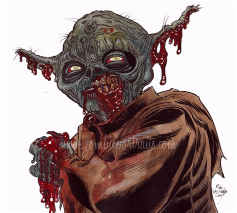 Zombies Zombies Zombies yoda wars series by rob