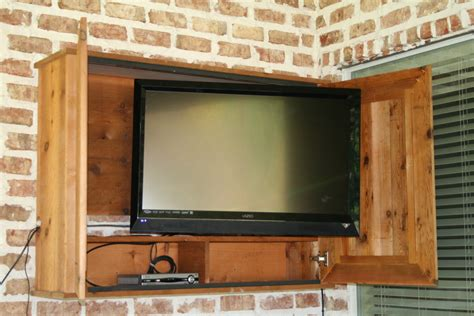outdoor tv wall outdoor tv for the patio diy pinterest