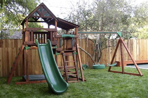backyard playset ideas backyard playsets wooden outdoor furniture design and