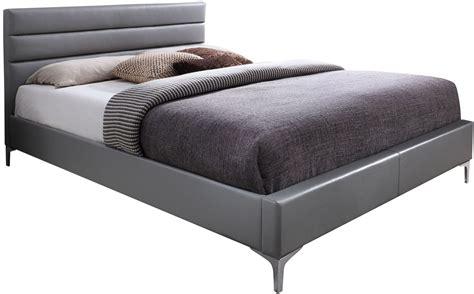 gray king bed nario gray king platform bed 18229 k j m