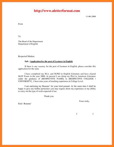 application letter date 10 teaching application letter format g unitrecors