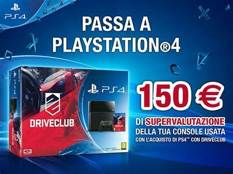 Ps4 Driveclub Reg 2 Eur Eng it passa a ps4 150 eur per la tua vecchia console