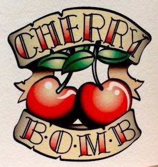 cherry bomb tattoo best 25 cherry bomb ideas on