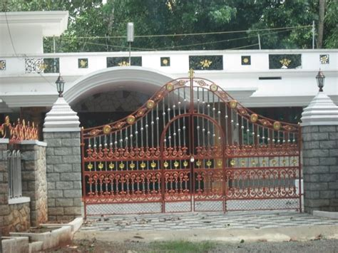 kerala gate designs kerala house gate with golden and kerala house gates photos