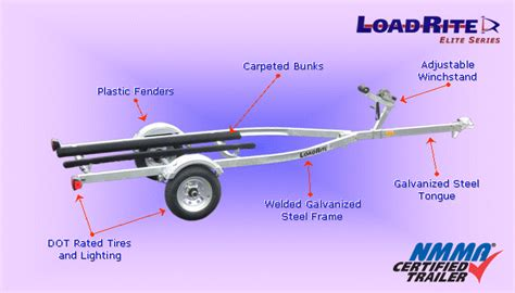ski boat trailer parts d s load rite personal watercraft trailers