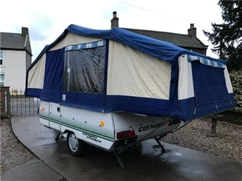 conway cruiser awning conway cruiser folding cer trailer tent with full