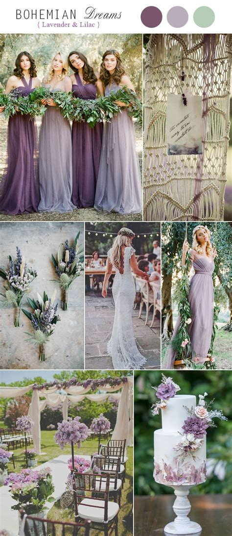 rustic wedding colors top 5 rustic bohemian chic wedding color palettes we