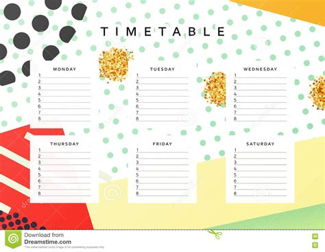 design calendar schedule planner calendar schedule the week abstract design