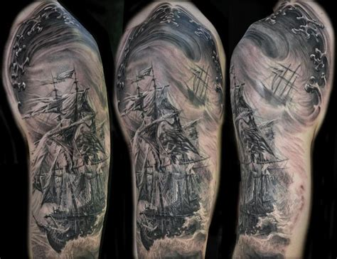 14 best pirate or ghost ship tattoos images on pinterest
