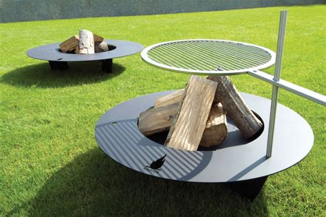 feuerstelle feuerschale 100 cm feuerstelle fireplate 100 cm stahl schwarz radius design