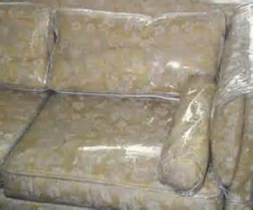 plastic sofa covers plastic and vinyl furniture slip covers were king of