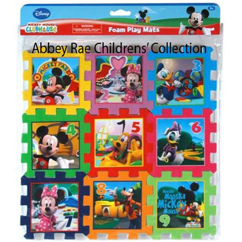 Mickey Play Mat by Disney Mickey Mouse Clubhouse Puzzle Mat New Foam Play Numbers Puzzle Mat Ebay