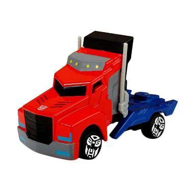 Premium Mainan Anak Cowok Die Cast Transformer Optimus Mainan Anak Di jual transformers optimus prime single pack diecast 7 cm harga kualitas terjamin