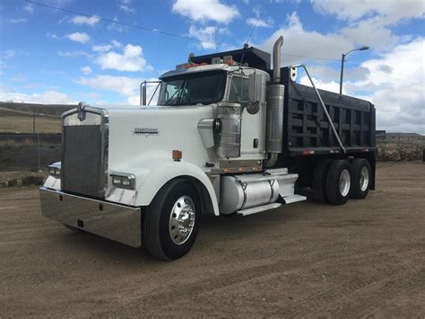 w900l kenworth w900l dump trucks for sale used trucks on