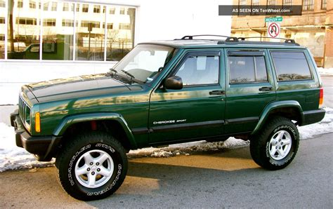 raised jeep cherokee 2001 jeep cherokee 4x4 sport 4 0 lifted quot service records