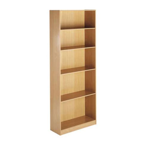 Maestro Focus Oak Collection 4 Shelf Bookcase Staples 174 Staples Bookshelves