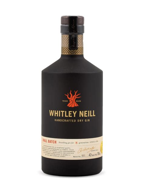 Handcrafted Gin - whitley neill handcrafted gin lcbo