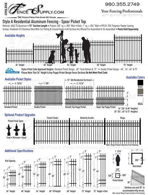 Top Aluminum Fence Manufacturers - 25 best ideas about aluminum fence on